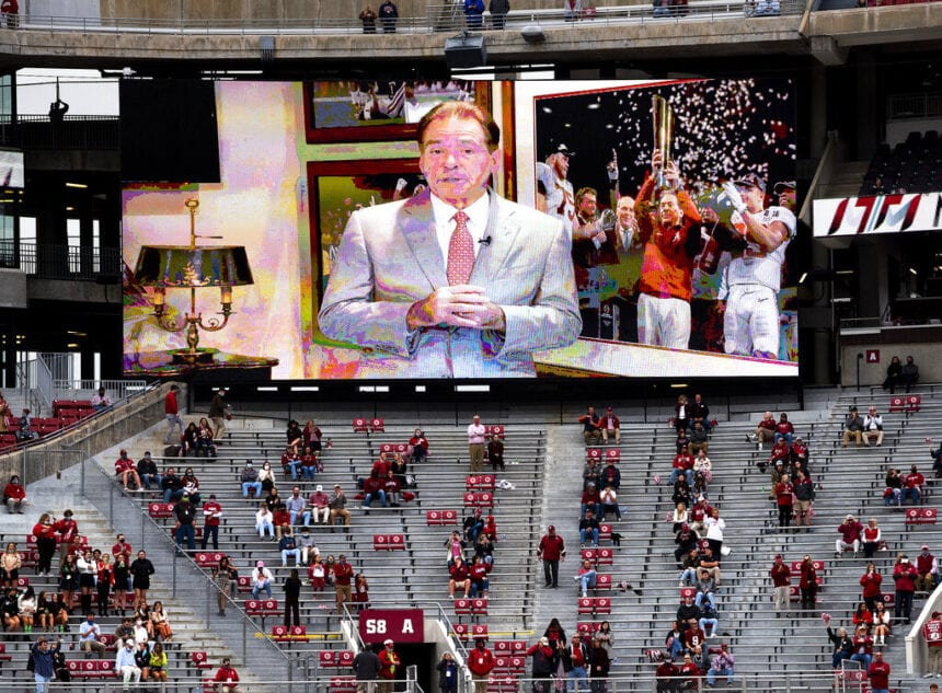 Saban expects to return to sidelines for Alabama-LSU game