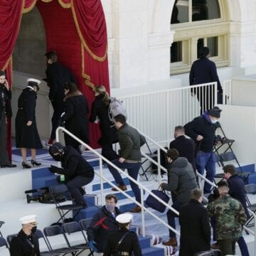 Jittery district: Inauguration rehearsal evacuated after fire