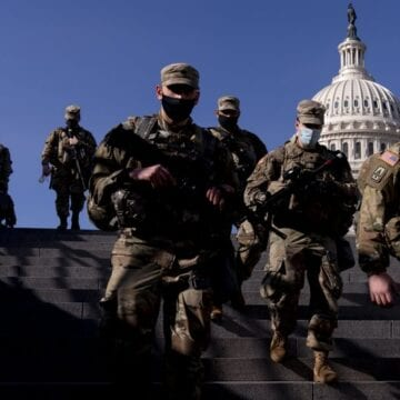National Guard troops flooding in as Washington locks down