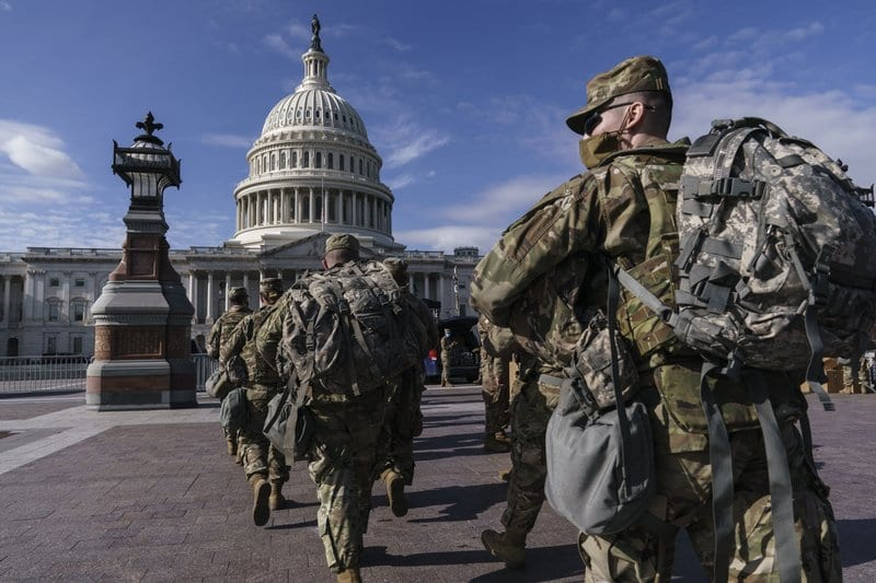 FBI vetting the 25,000 National Guard troops in DC