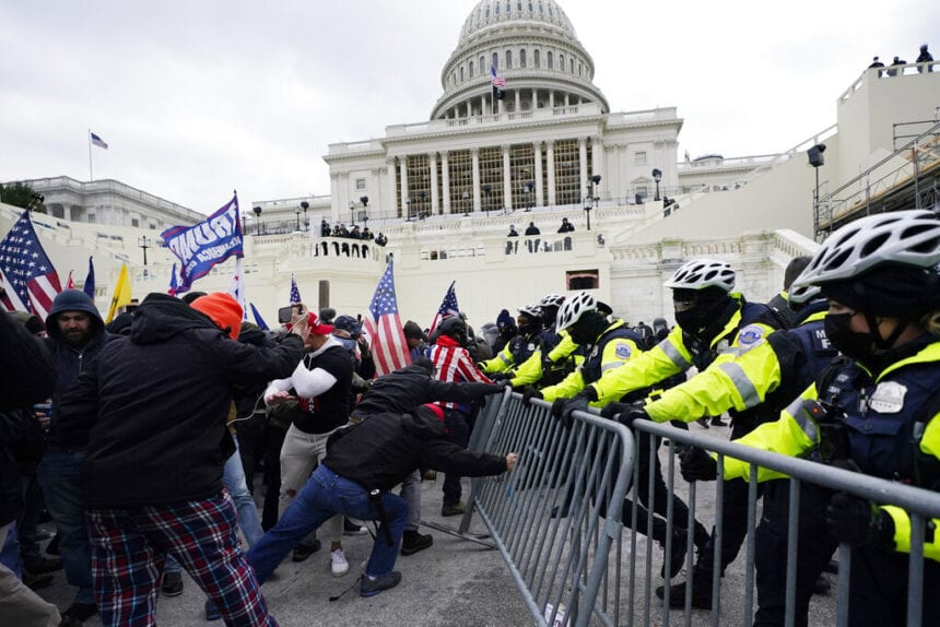 Veterans on each side of the divide among Capitol mob dead
