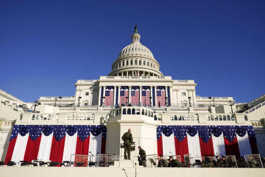 An inauguration unlike any other amid a pandemic, unrest