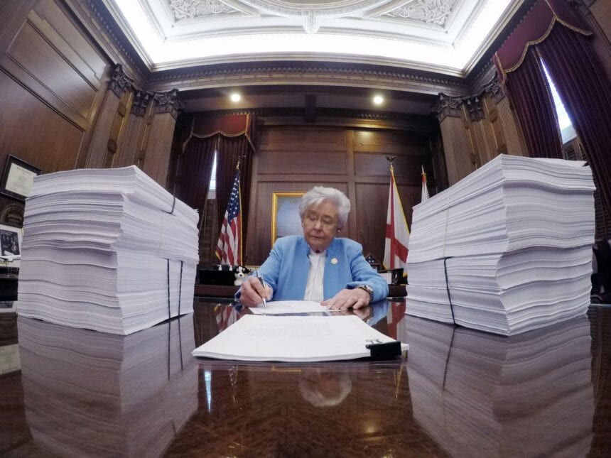 Ivey signs leases for two prisons